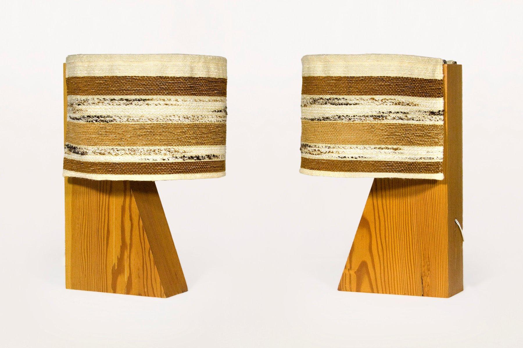 Architektonische Spanische Vintage Tischlampen von Joaquim Blesa, 1970...