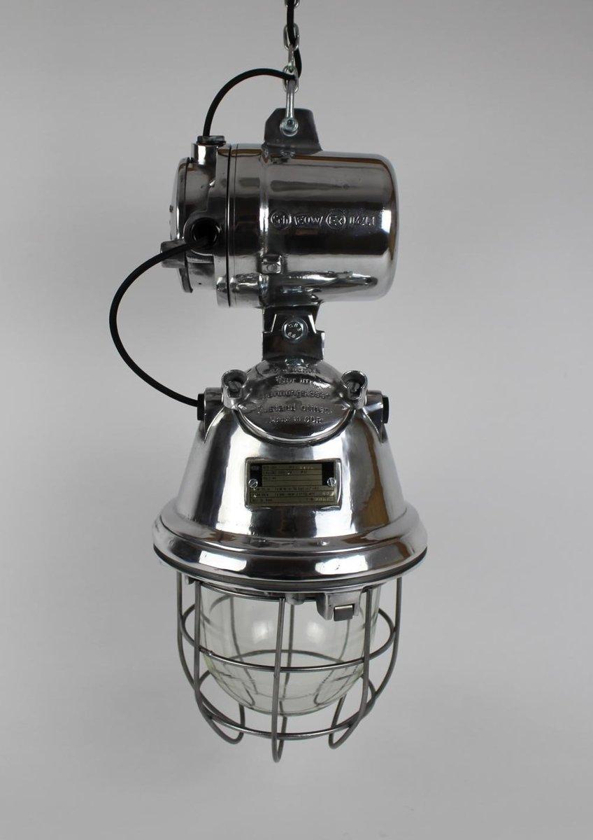 suspension vintage industrielle noire de eow en vente sur. Black Bedroom Furniture Sets. Home Design Ideas