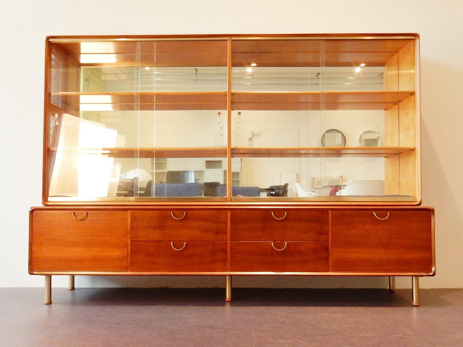 Vetri Per Credenza Anni 50 : Credenza a vetro di a.a. patijn per pastoe anni 50 in vendita su