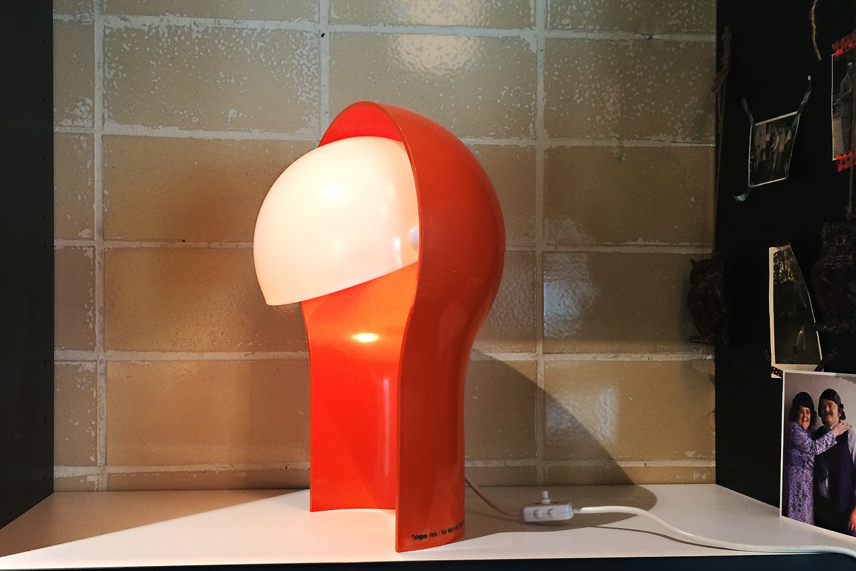 Telegono Tischlampe von Vico Magistretti für Artemide, 1969