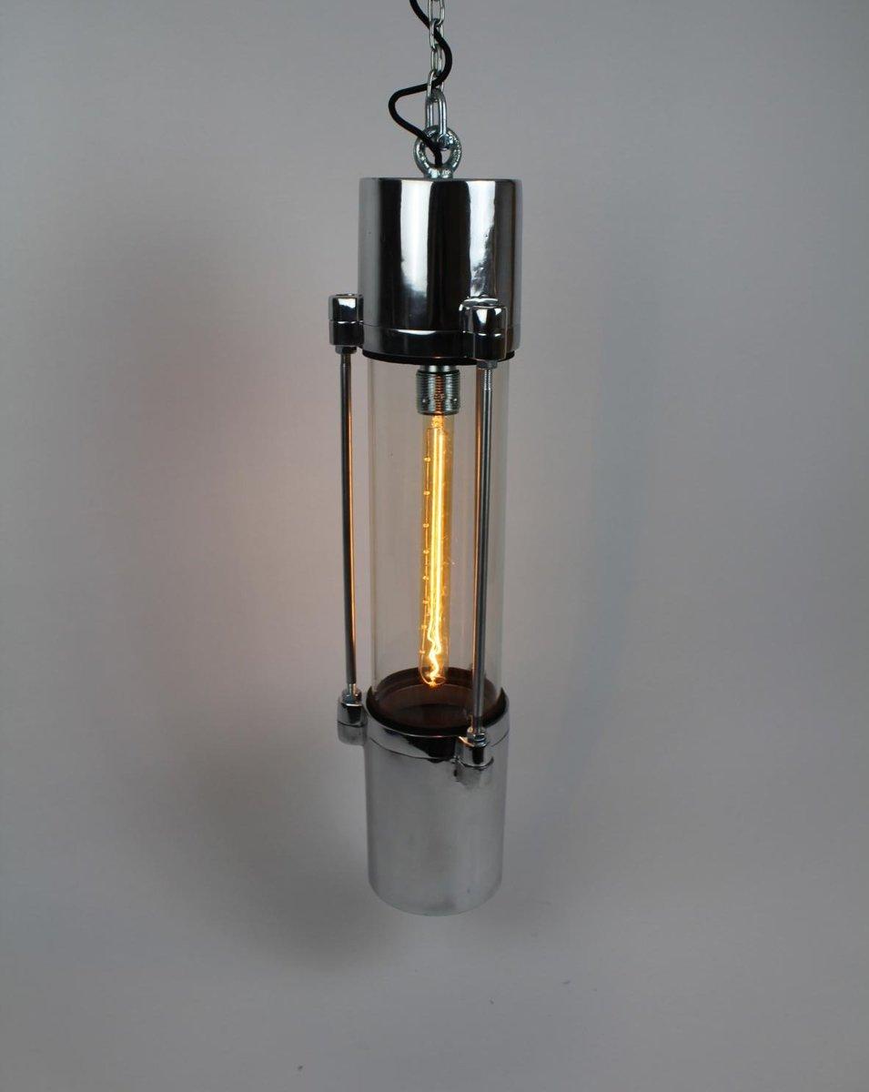 Industrielle Fabriklampe von VEB Leuchtenbau