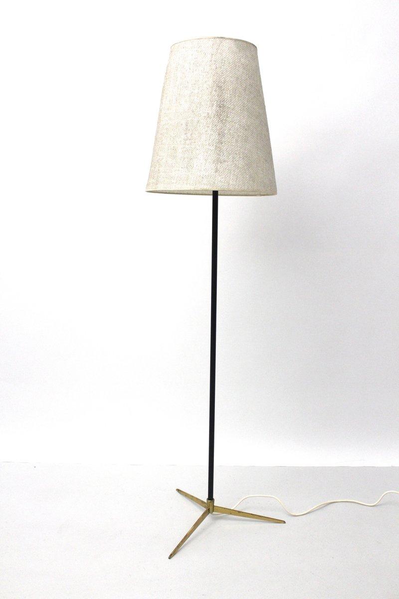 Messing Stehlampe von J.T. Kalmar, 1960er