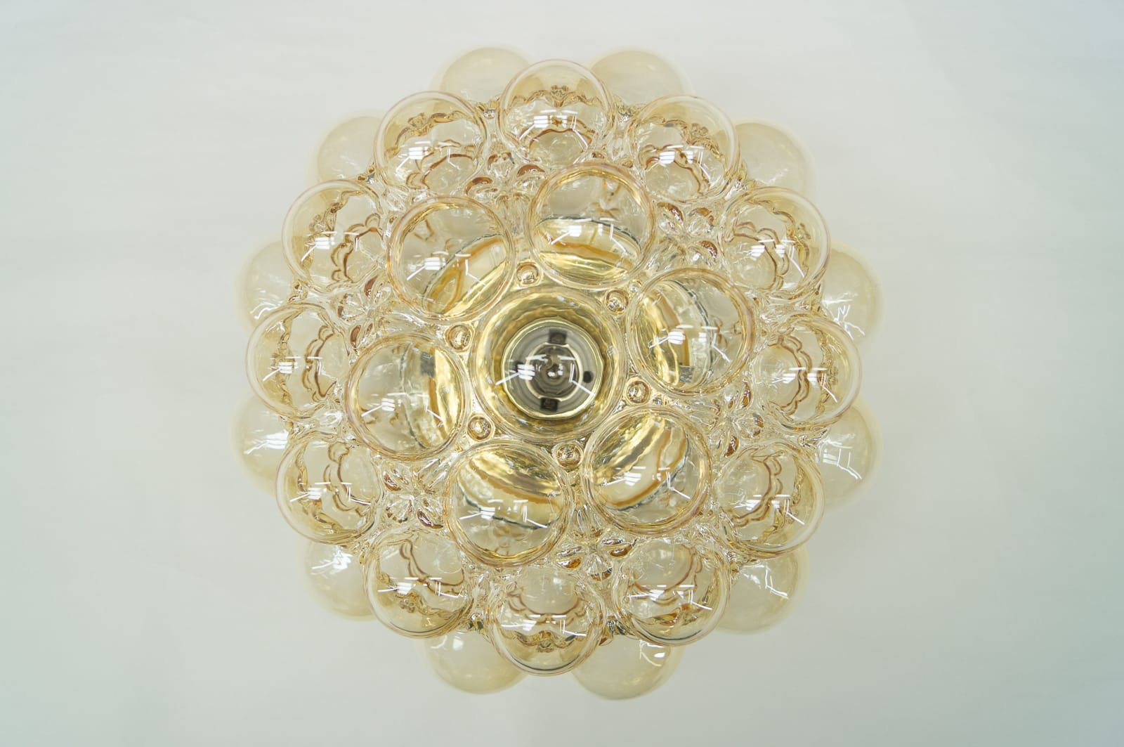 Large Bubble Glass Wall Flush Mount by Helena Tynell for Limburg ...