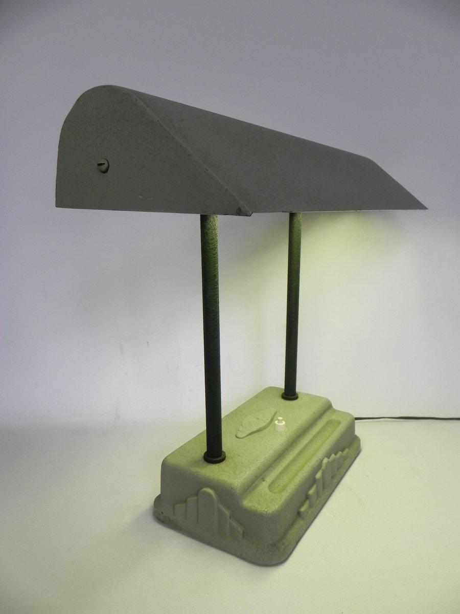 art deco schreibtischlampe von sevadac 1930er bei pamono kaufen. Black Bedroom Furniture Sets. Home Design Ideas