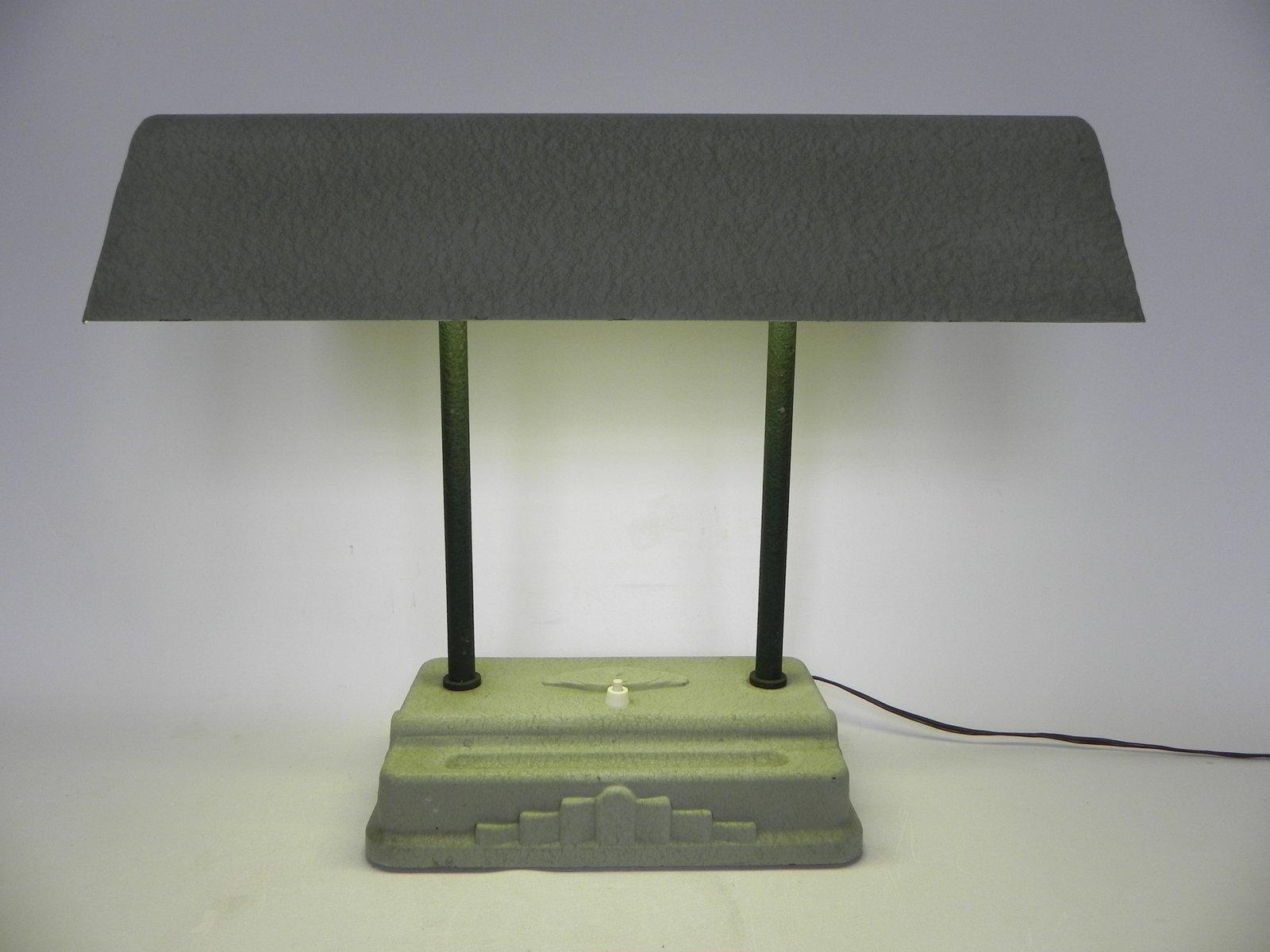 Art Deco Schreibtischlampe von Sevadac, 1930er