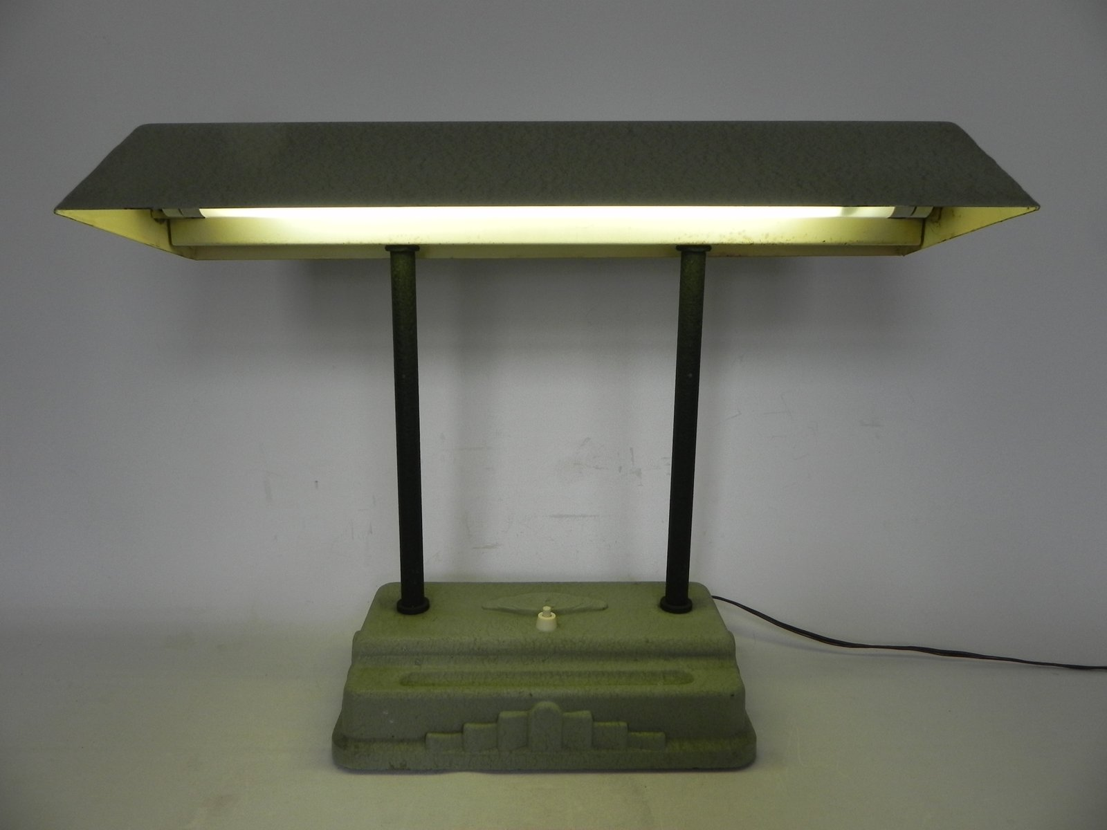 Art Deco Desk Lamp From Sevadac 1930s