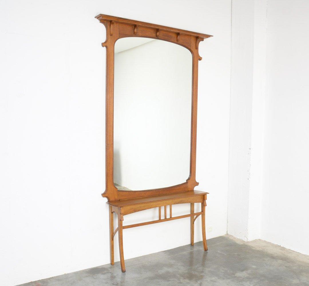 Jugendstil spiegel mit konsole bei pamono kaufen - Konsole mit spiegel ...