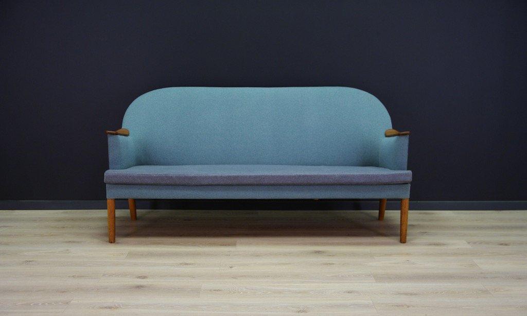 d nisches sofa sessel mit armlehnen aus holz 1970er bei. Black Bedroom Furniture Sets. Home Design Ideas