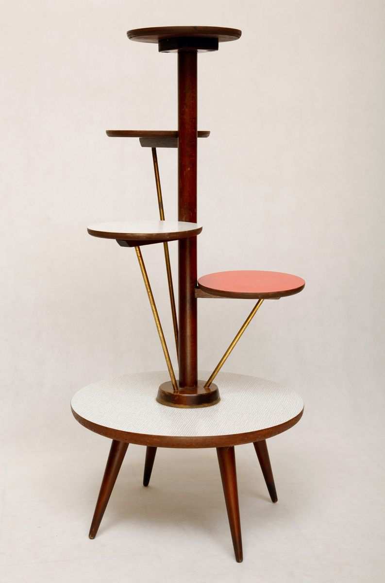 Danish plant stand from ilse mobel for sale at pamono for Danish design mobel
