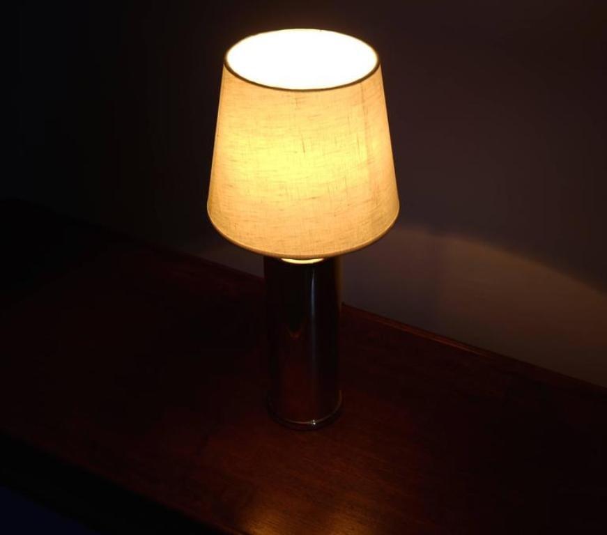 schwedische tischlampe von luxus 1960er bei pamono kaufen. Black Bedroom Furniture Sets. Home Design Ideas