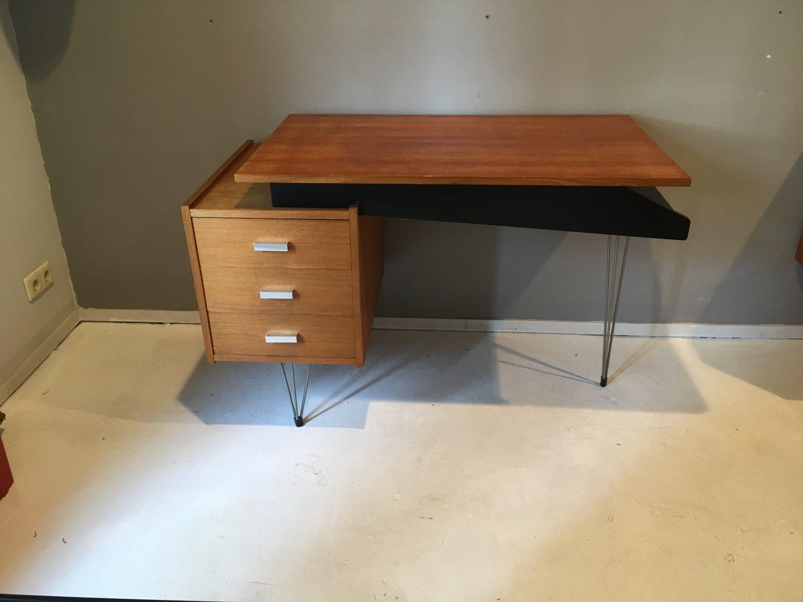mid century schreibtisch von cees braakman f r pastoe bei. Black Bedroom Furniture Sets. Home Design Ideas
