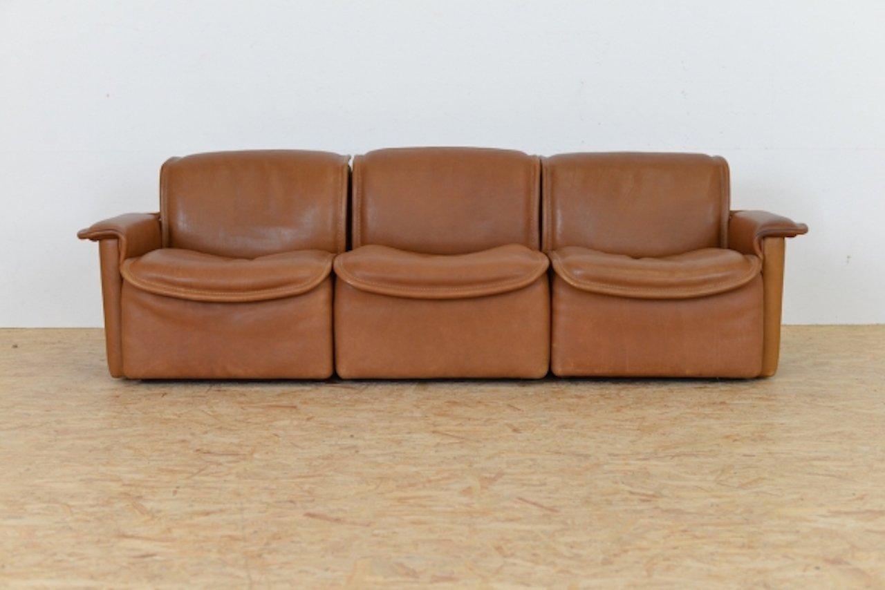 vintage ds12 sofa set von de sede 3er set bei pamono kaufen. Black Bedroom Furniture Sets. Home Design Ideas