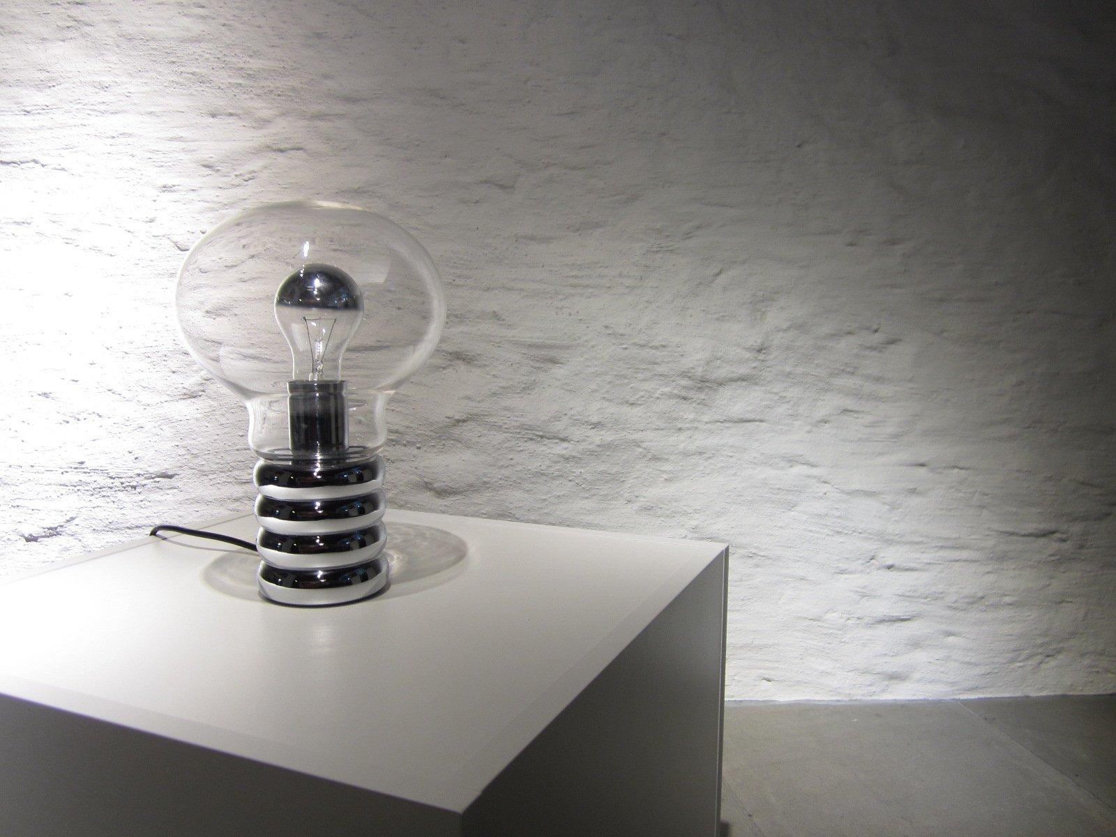 lampe de bureau forme ampoule par ingo maurer pour studio m 1970s en vente sur pamono. Black Bedroom Furniture Sets. Home Design Ideas