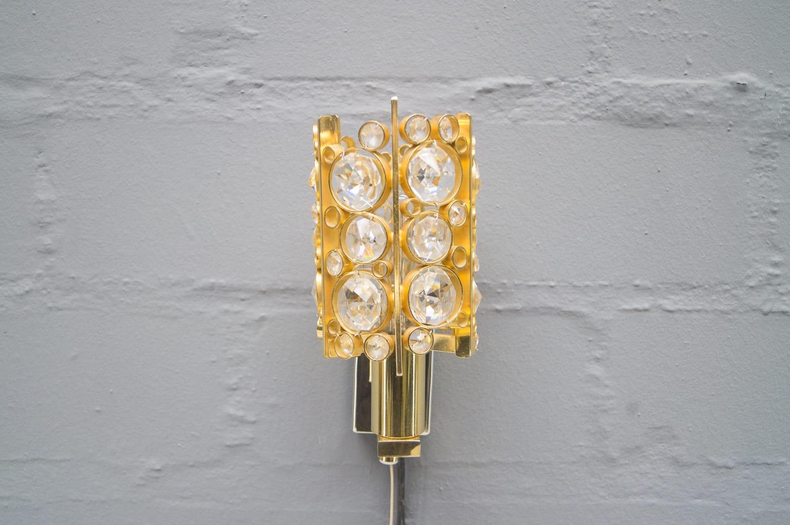 Kleine Wandlampe von Ernst Palme, 1960er