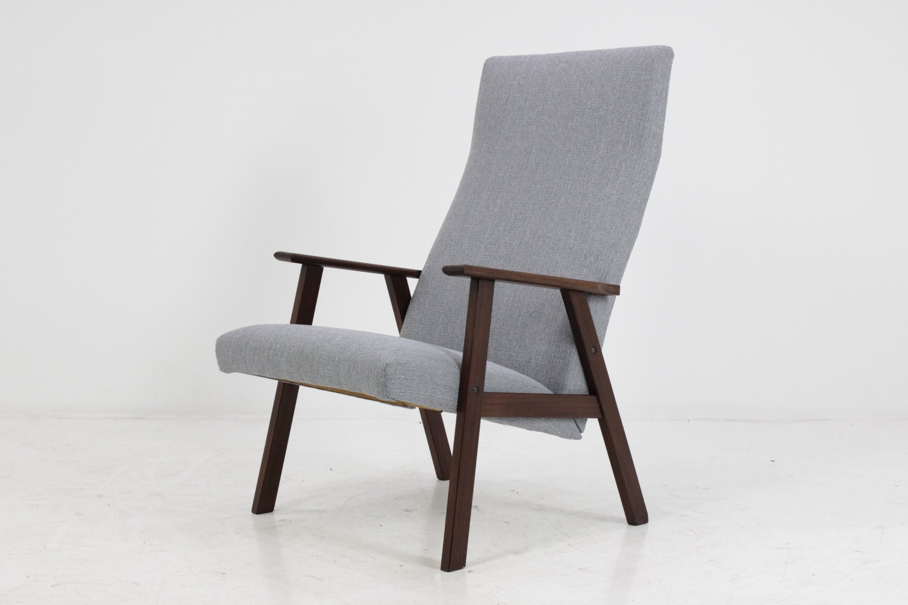 Danish Highback Teak Easy Chair, 1960s