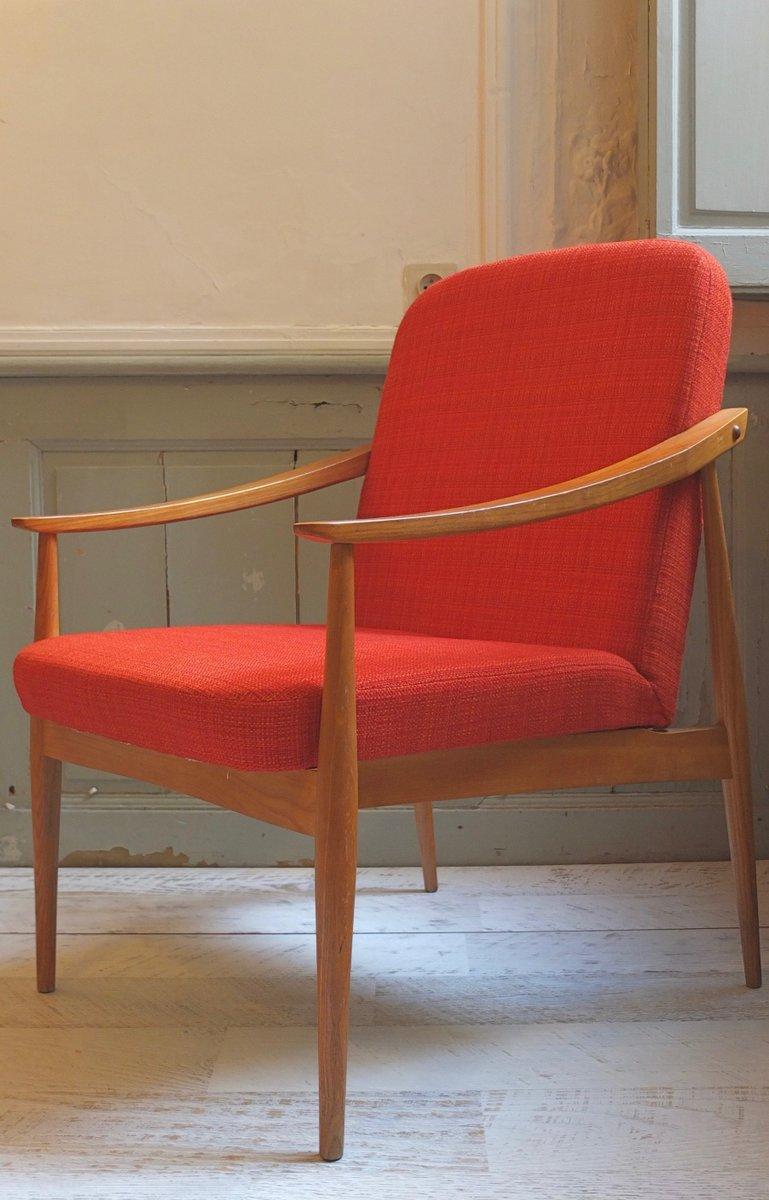 polsterstuhl im skandinavischen stil 1960er bei pamono kaufen. Black Bedroom Furniture Sets. Home Design Ideas