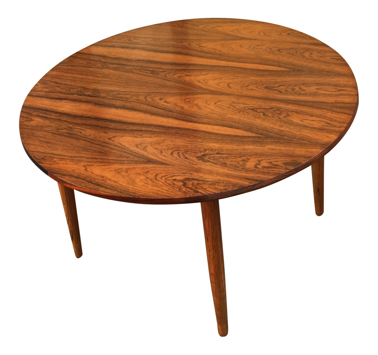 Cb2 Mid Century Coffee Table: Mid-Century Round Rosewood Coffee Table For Sale At Pamono