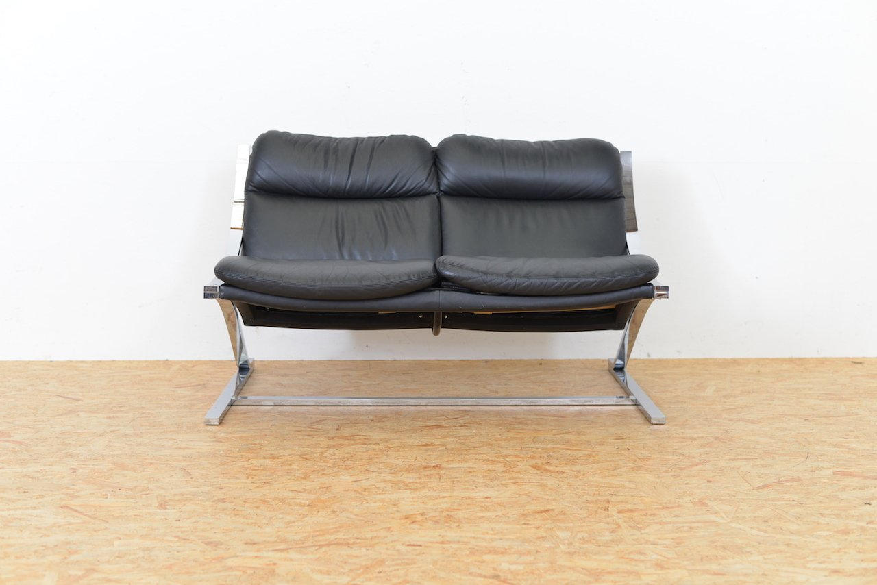 Mid-Century Zeta 2-Sitzer Sofa von Paul Tuttle für Strässle, 1960er