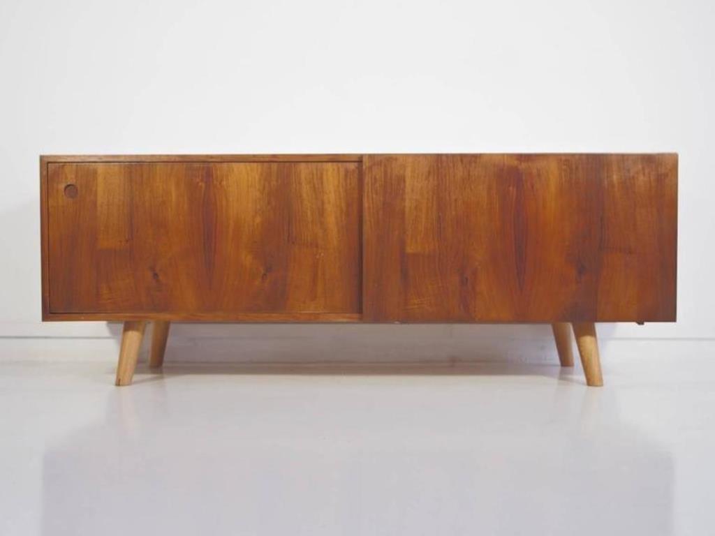 Niedriges Vintage Sideboard von Ib Kofod-Larsen für Faarup Møbelfabrik