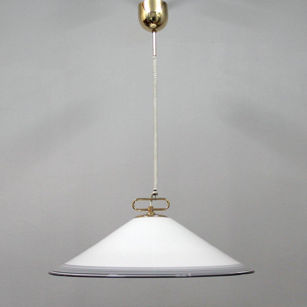 grande lampe en verre murano 1980s en vente sur pamono. Black Bedroom Furniture Sets. Home Design Ideas