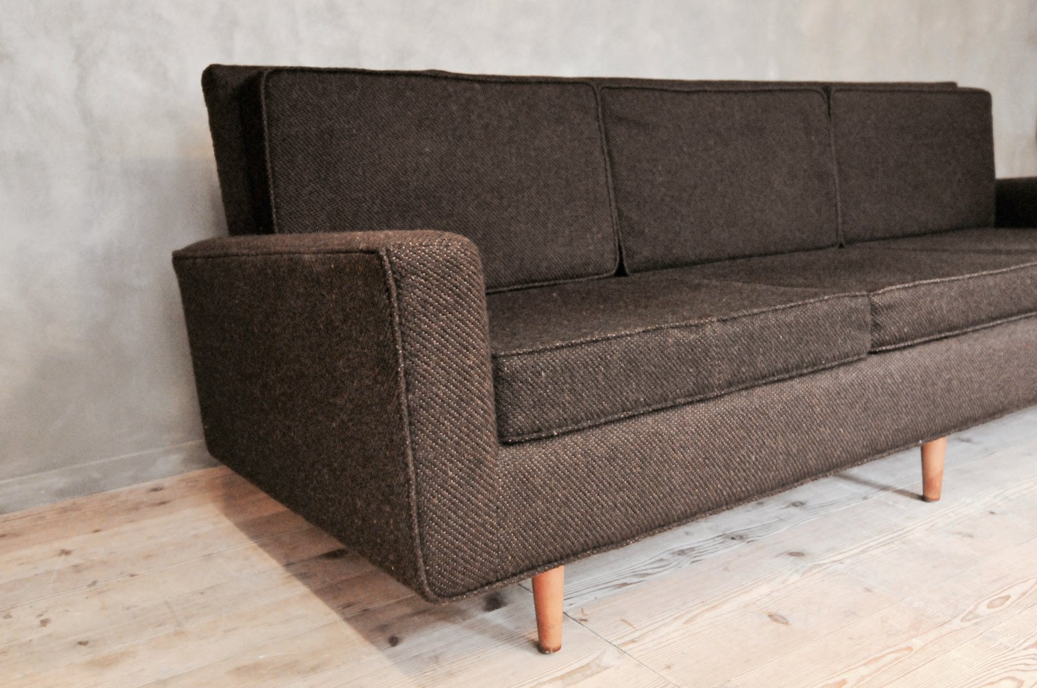 3er sofa von florence knoll f r knoll international bei pamono kaufen. Black Bedroom Furniture Sets. Home Design Ideas