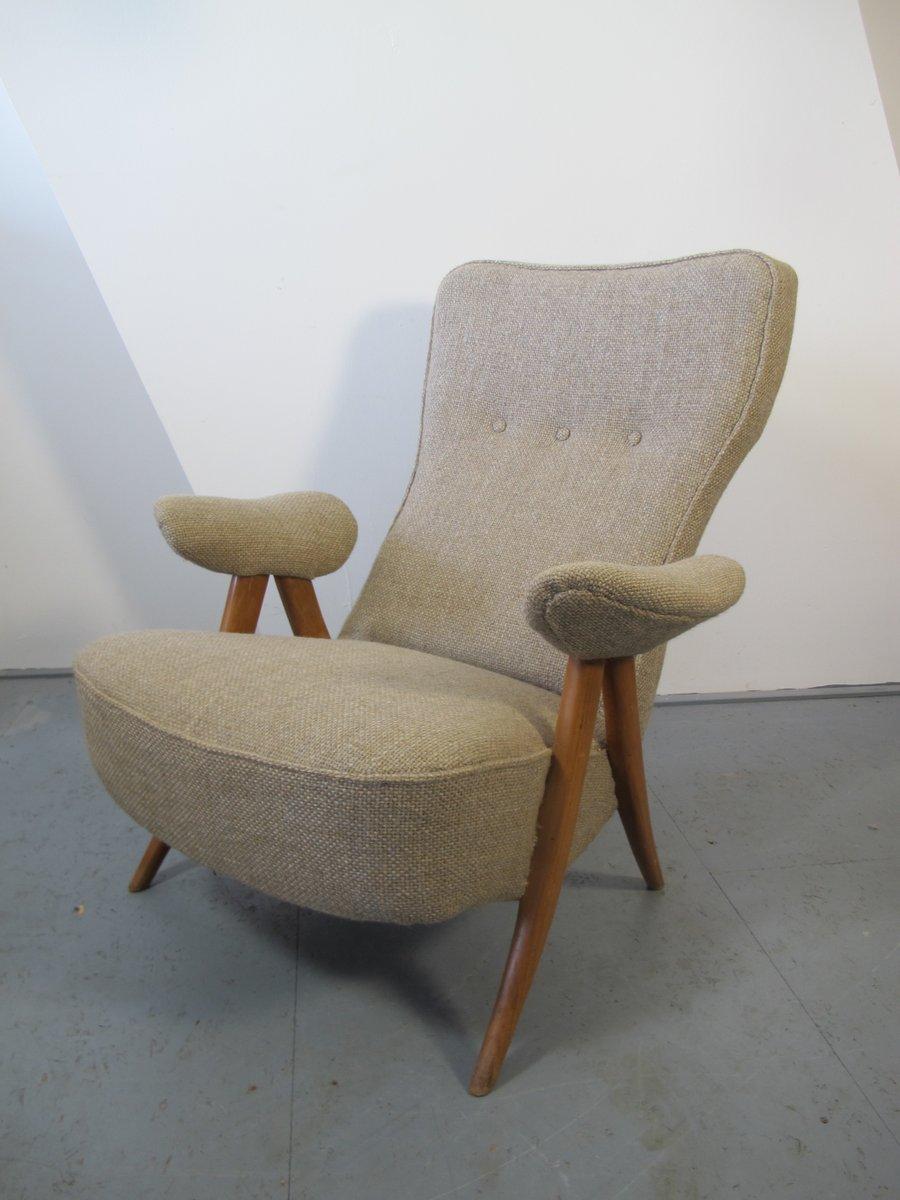 chaise de salon 105 mid century par theo ruth pour artifort 1950s en vente sur pamono. Black Bedroom Furniture Sets. Home Design Ideas