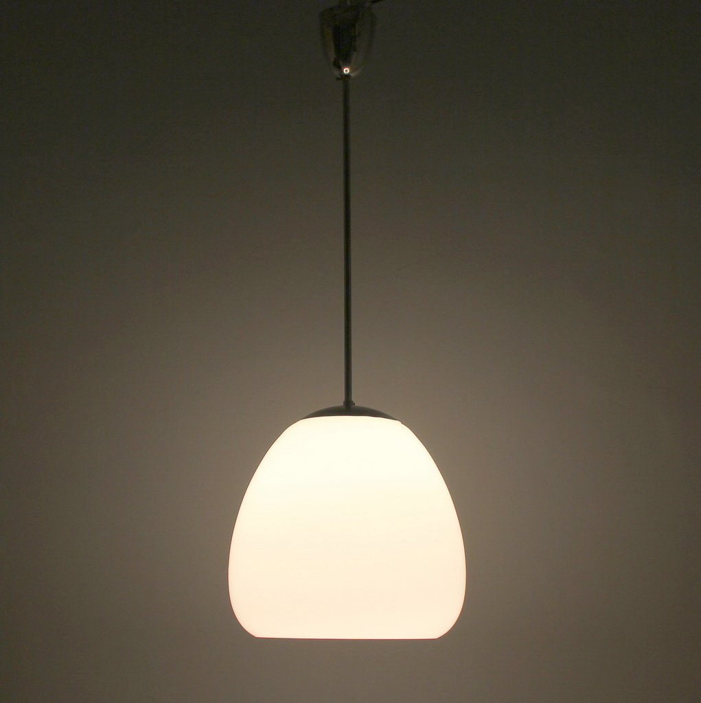 German Art Deco Ceiling Lamp In Opaline Glass For Sale At Pamono