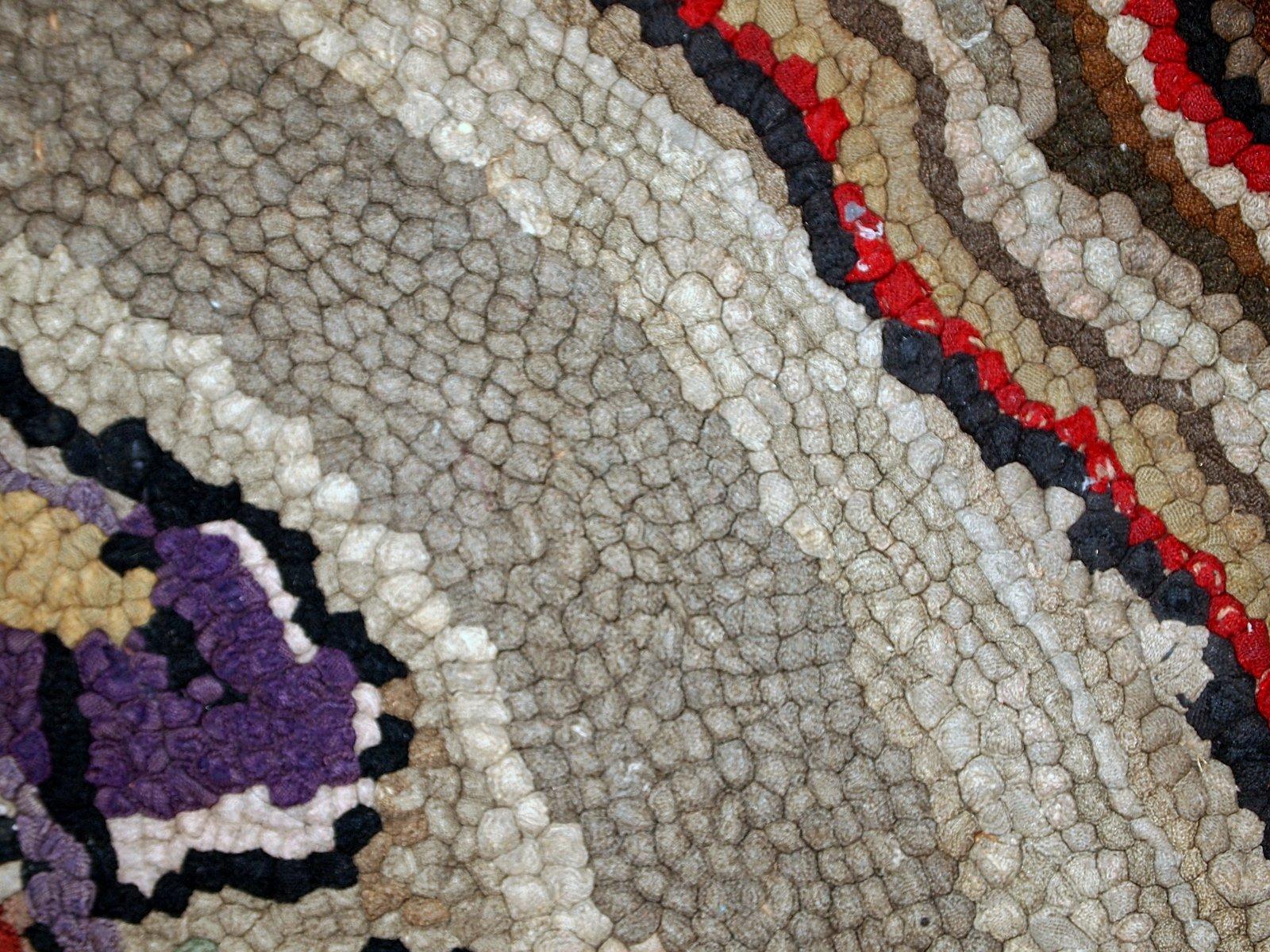 tapis crochet fait main am rique en vente sur pamono. Black Bedroom Furniture Sets. Home Design Ideas