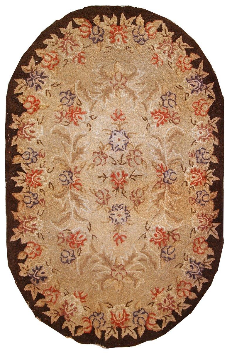 Handgemachter Amerikanischer Vintage Teppich 1930er Bei Pamono Kaufen