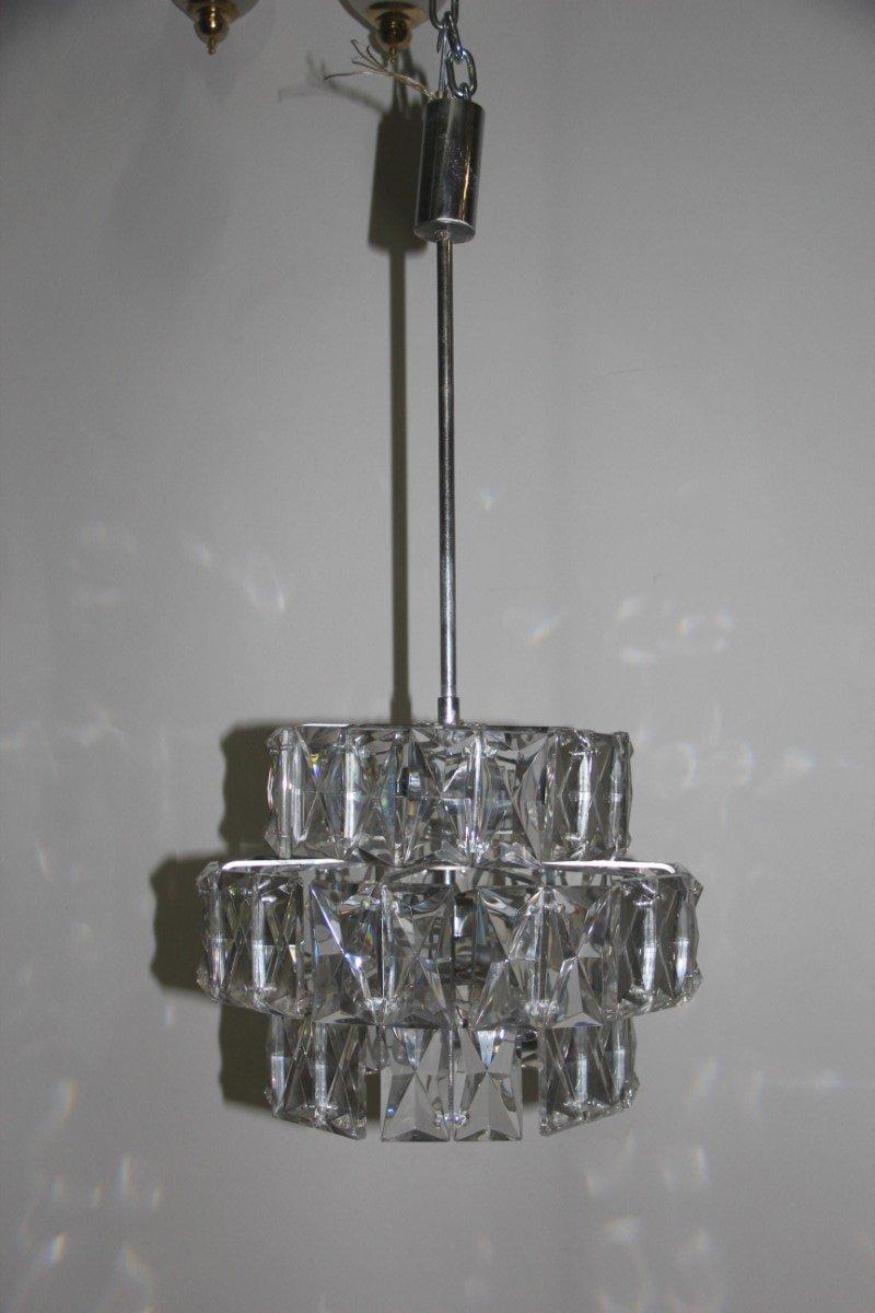 Diamond Kronleuchter von Kalmar, 1960er