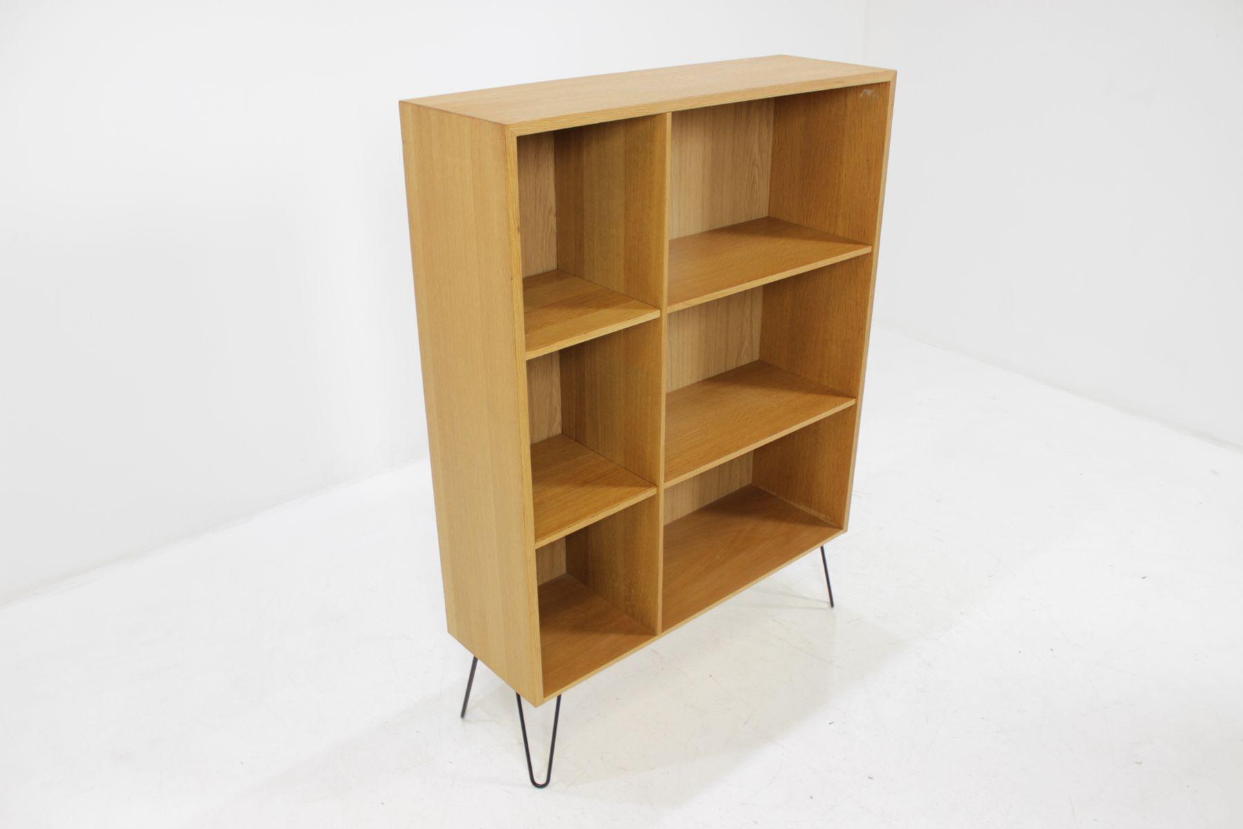 biblioth que en ch ne danemark 1960s en vente sur pamono. Black Bedroom Furniture Sets. Home Design Ideas