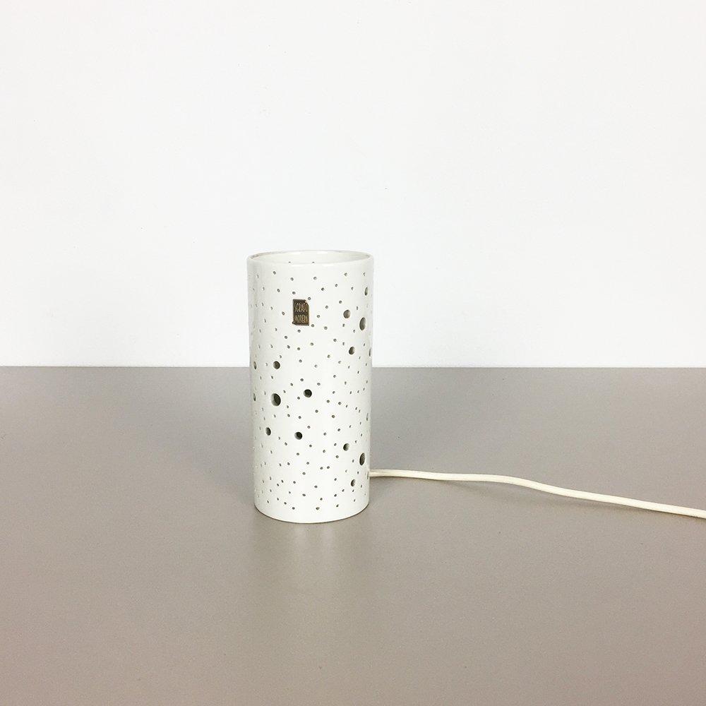 Moderne Keramik Op Art Tischlampe von Peter Müller für Sgrafo Modern, ...