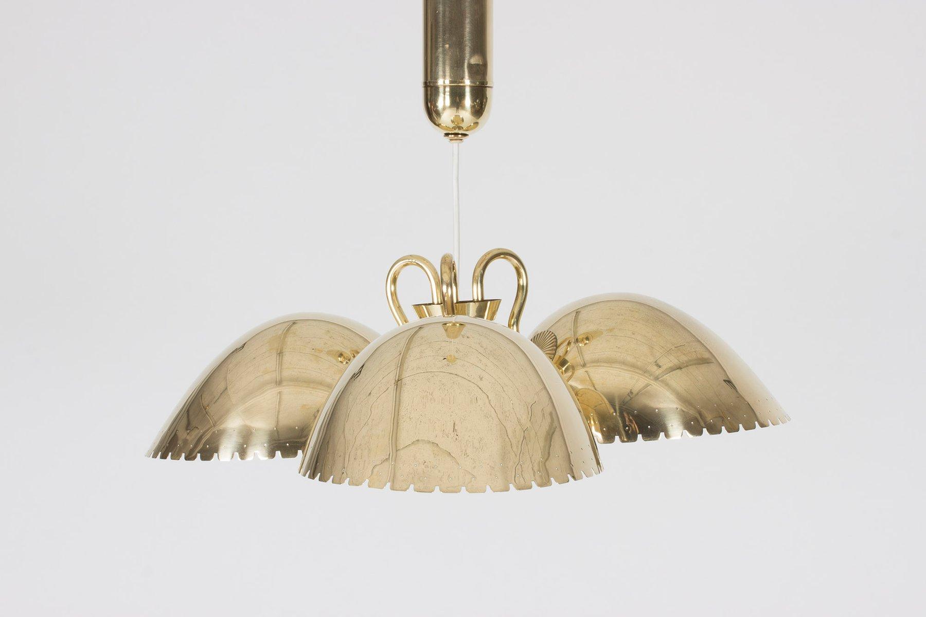 Entzückend Messing Deckenlampe Referenz Von Von Carl-axel Acking Für Bröderna Malmströms Metallvarufabrik,