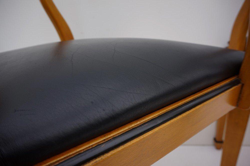 spanische vintage esszimmer armlehnst hle von valenti 6er set bei pamono kaufen. Black Bedroom Furniture Sets. Home Design Ideas