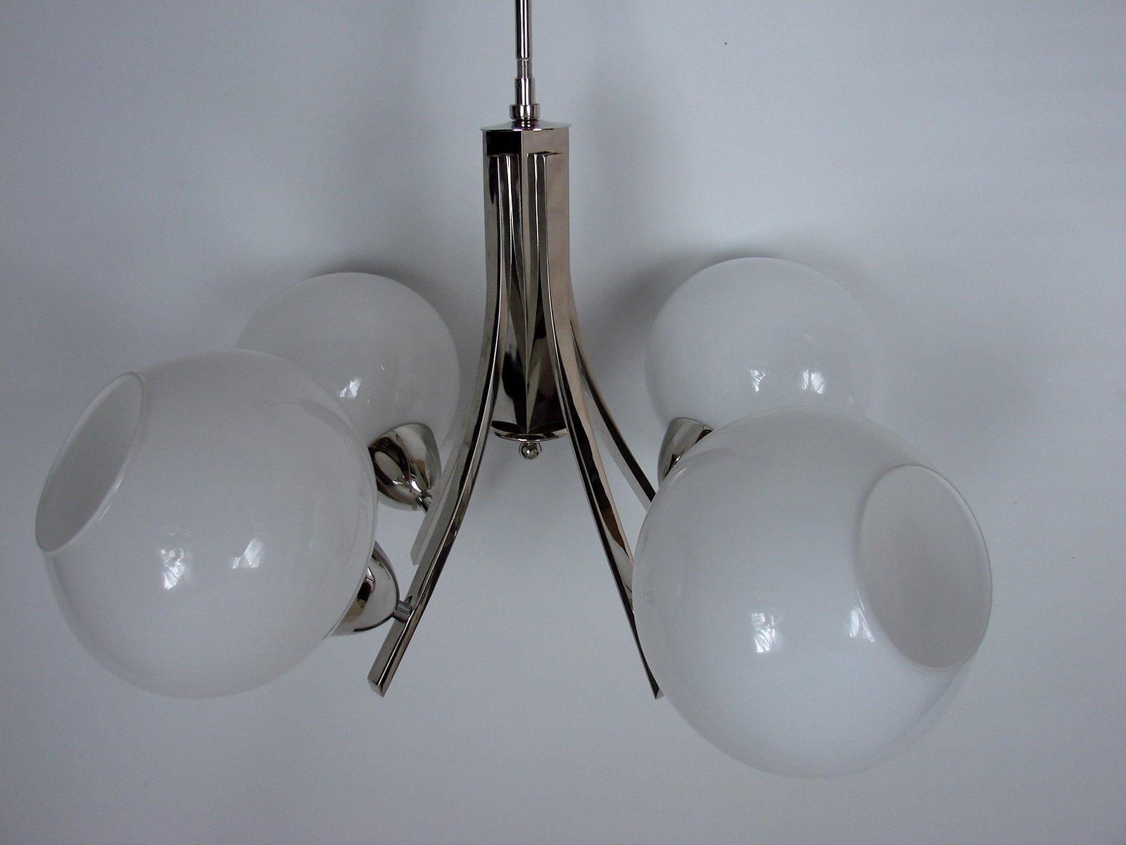 Kronleuchter Vintage Silber ~ Vintage kristallglas kronleuchter von bakalowits söhne er