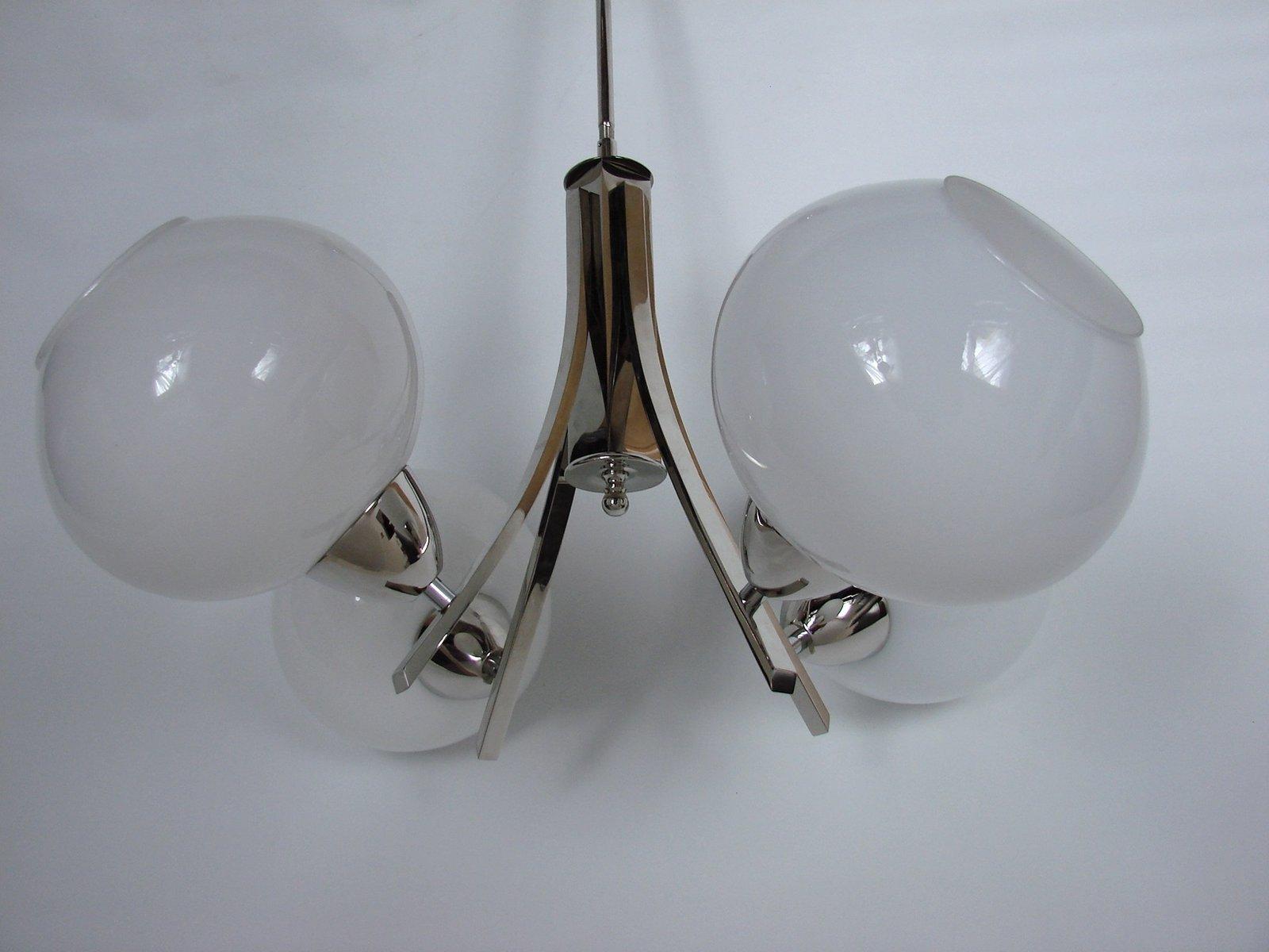 Kronleuchter Vintage Silber ~ Vintage kronleuchter aus transparentem getöntem kristallglas mit