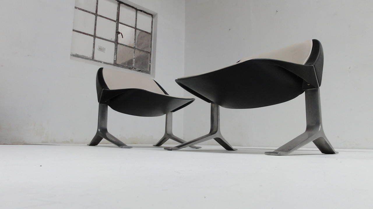 vintage sessel von knut hesterberg 1970er 2er set bei pamono kaufen. Black Bedroom Furniture Sets. Home Design Ideas