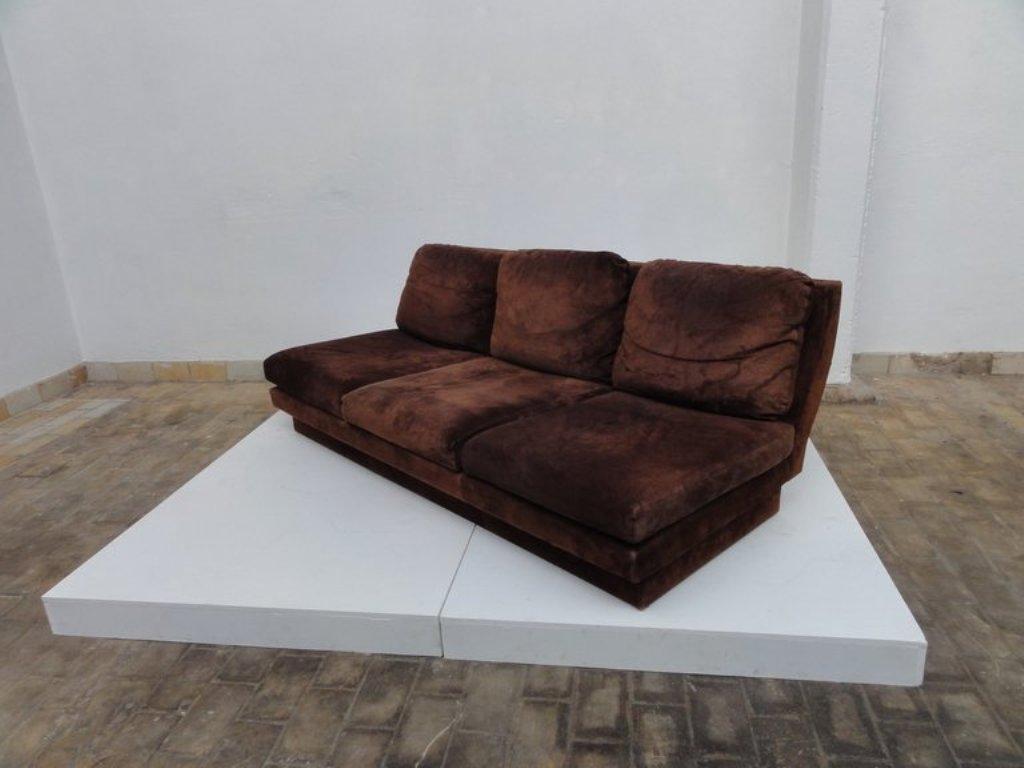 sofa von willy rizzo f r studio willy rizzo 1969 bei pamono kaufen. Black Bedroom Furniture Sets. Home Design Ideas