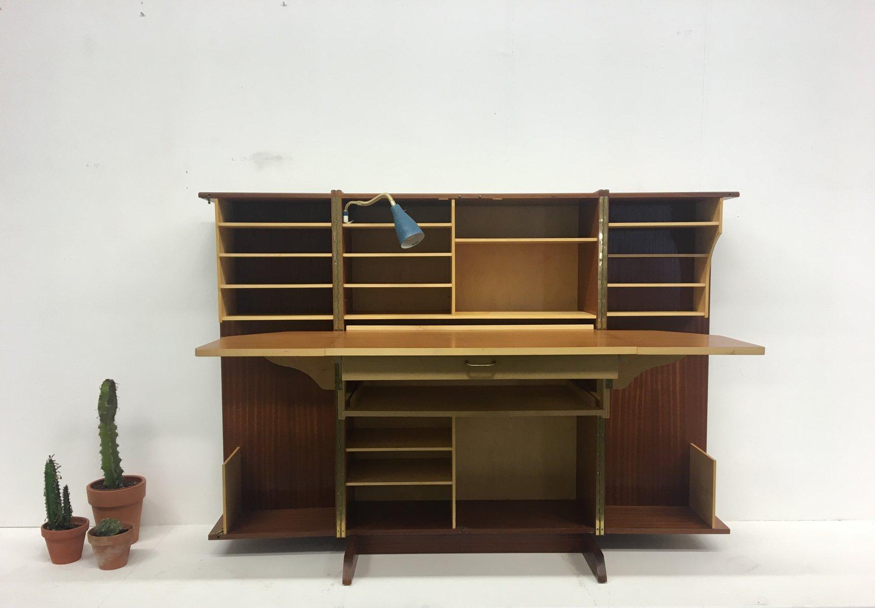 Credenza Con Tavolo A Ribalta : Credenza ness con tavolo estraibile gardini mobile scrivania
