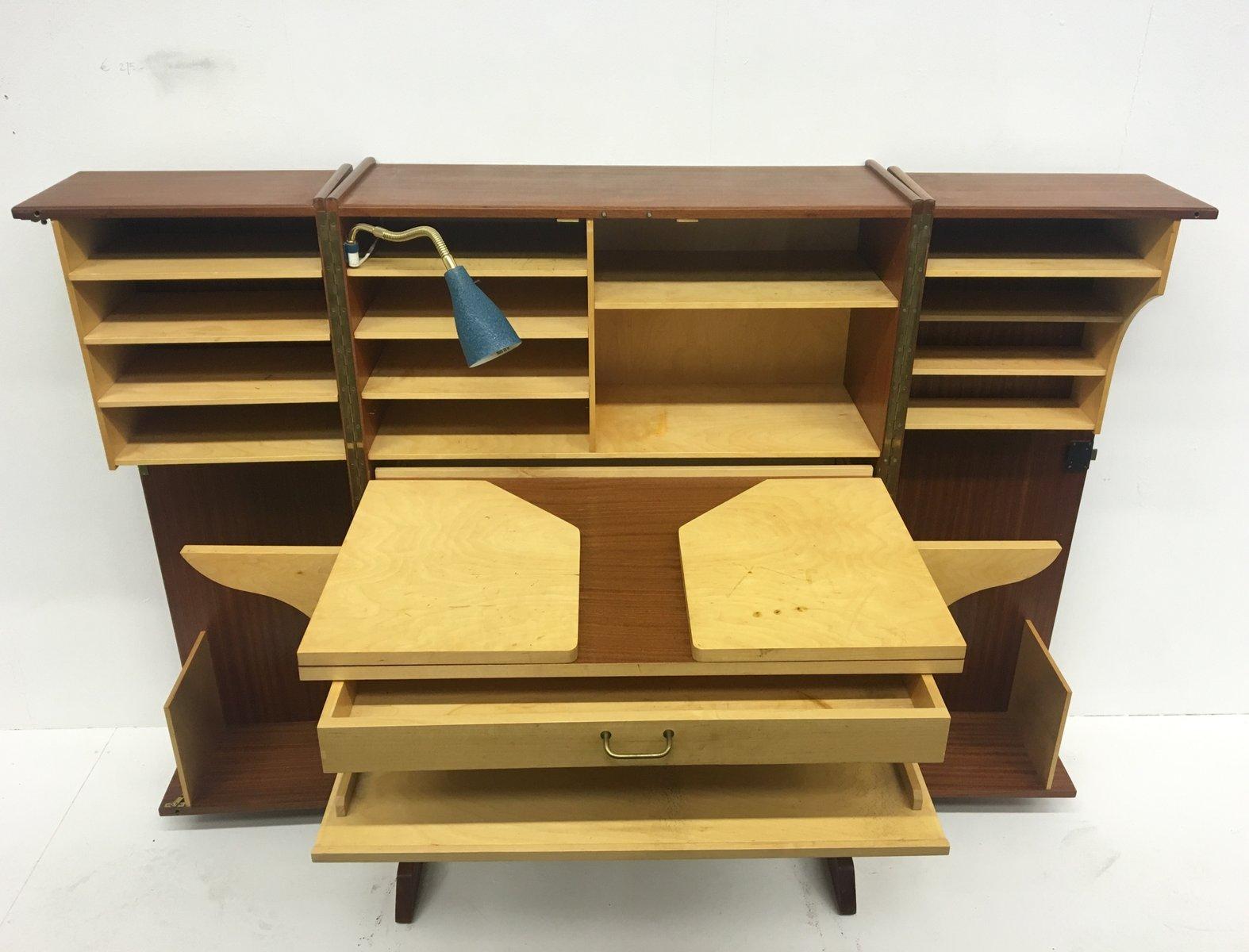 Mobile con scrivania a scomparsa poltrona per scrivania con