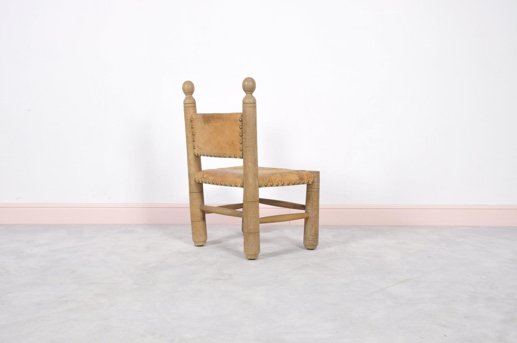 chaise d 39 enfant louisiana vintage avec dossier barreaux en vente sur pamono. Black Bedroom Furniture Sets. Home Design Ideas