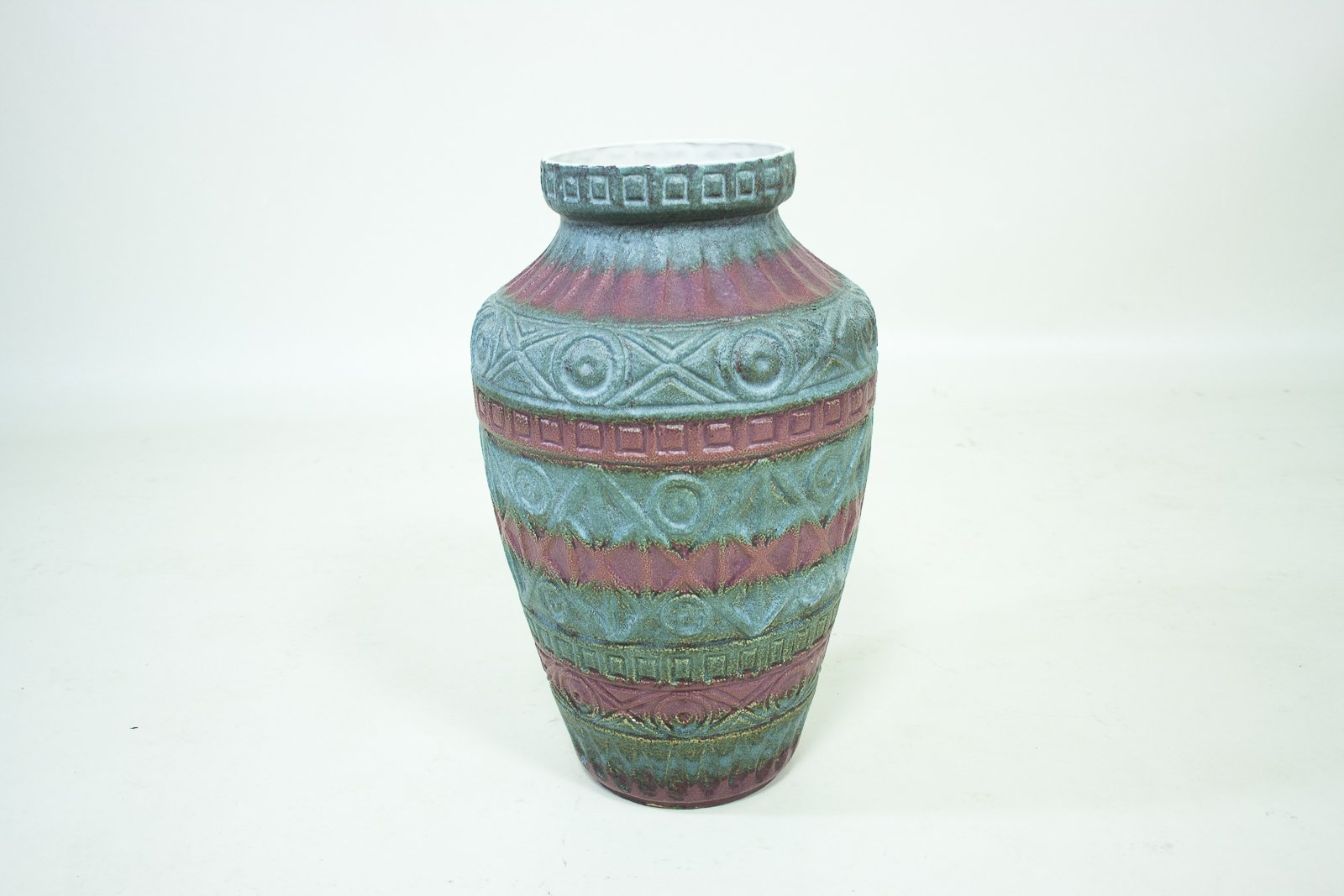 deutsche vintage vasen aus keramik von bodo mans f r bay keramik 2er set bei pamono kaufen. Black Bedroom Furniture Sets. Home Design Ideas