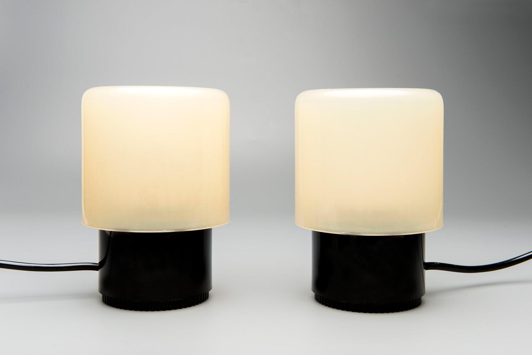 KD32 Tischlampen von Giotto Stoppino für Kartell, 1970er, 2er Set