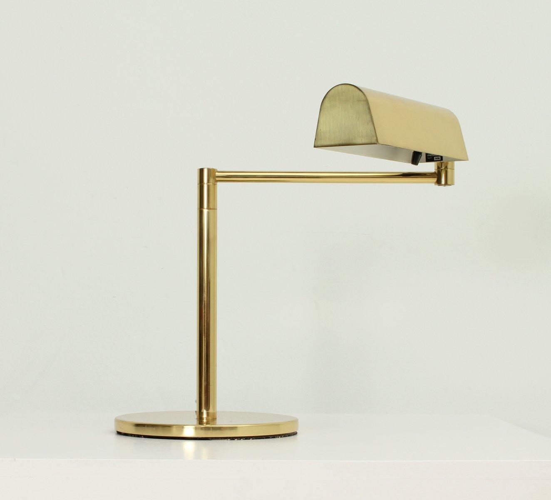 Tischlampe mit Gelenk von George Hansen für Metalarte, 1970er