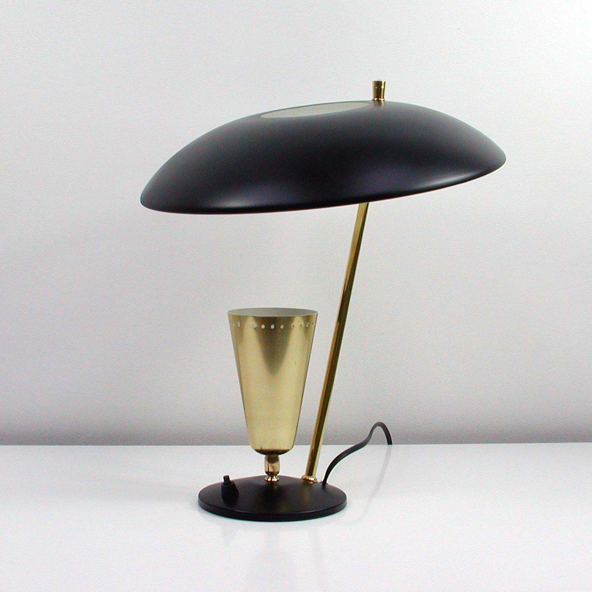 Lampada da tavolo riflessa vintage di aluminor francia anni 39 50 in vendita su pamono - Lampada da tavolo vintage ...
