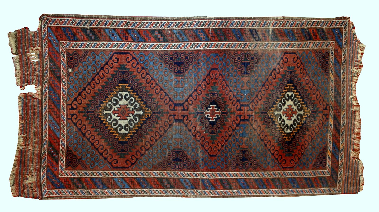Antique Handmade Afghan Baluch Rug 1900s For Sale At Pamono