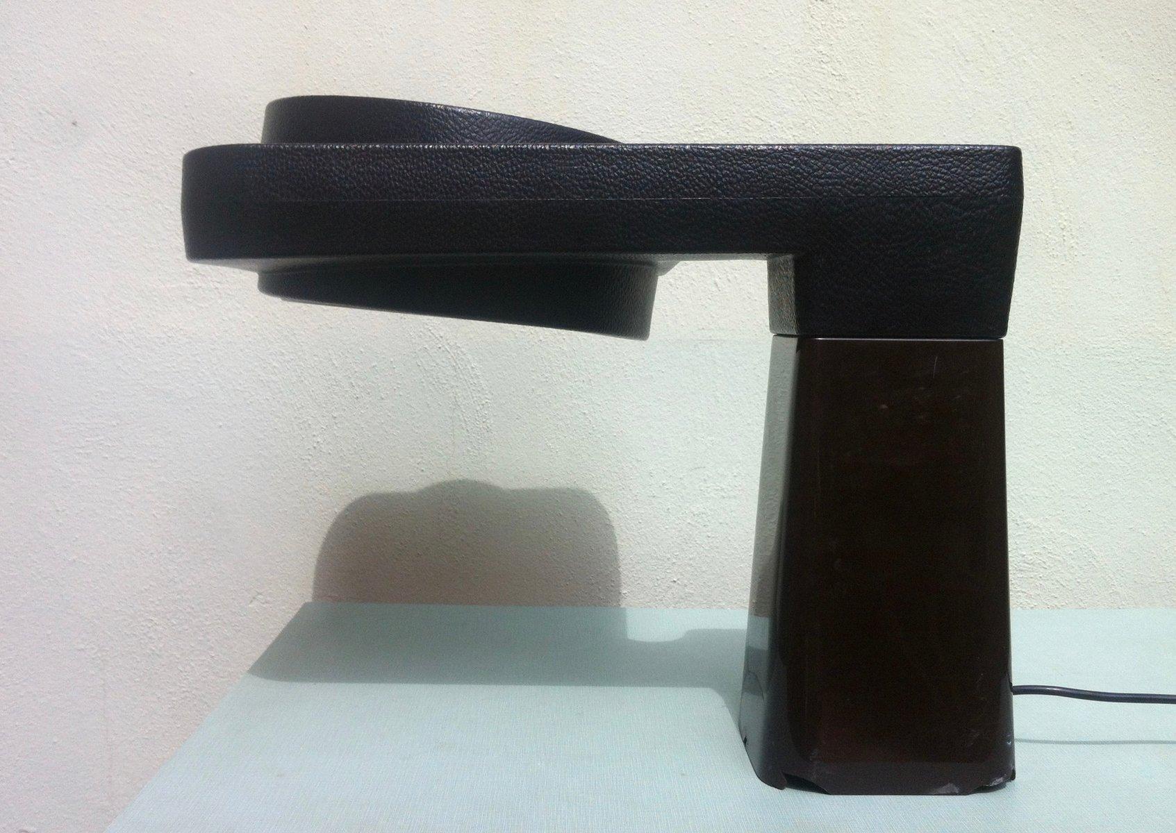 Große Spanische Brutalistische Schreibtischlampe von T. Díaz Magro für...