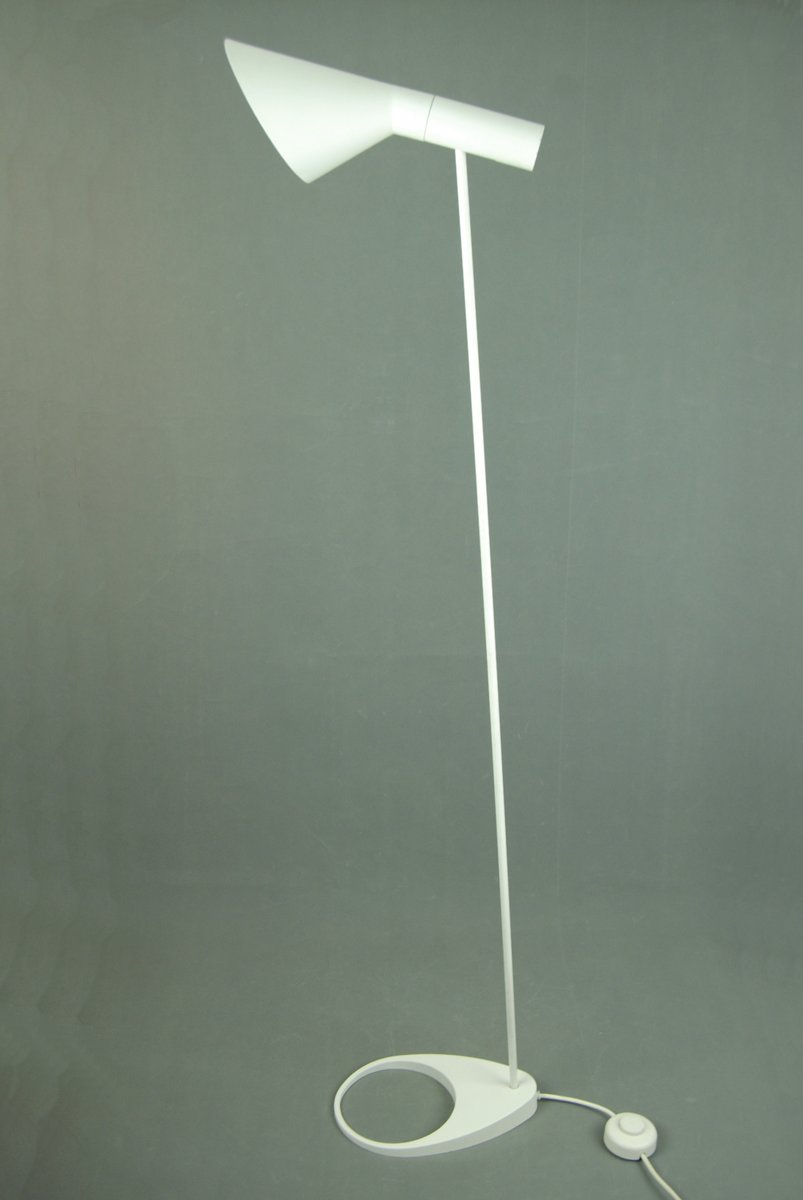 Vintage Aj Floor Lamp By Arne Jacobsen For Louis Poulsen