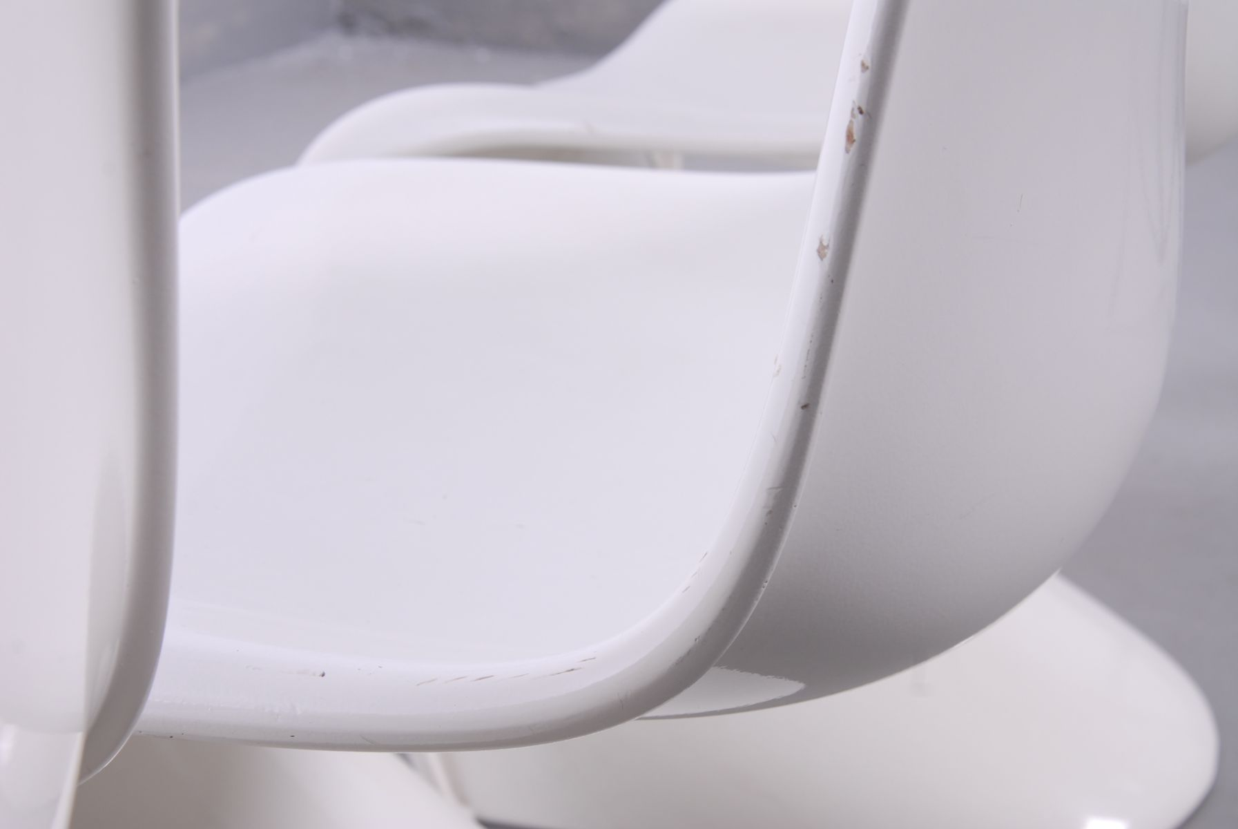 cremefarbene panton chairs von verner panton f r fehlbaum 1960er 4er set bei pamono kaufen. Black Bedroom Furniture Sets. Home Design Ideas