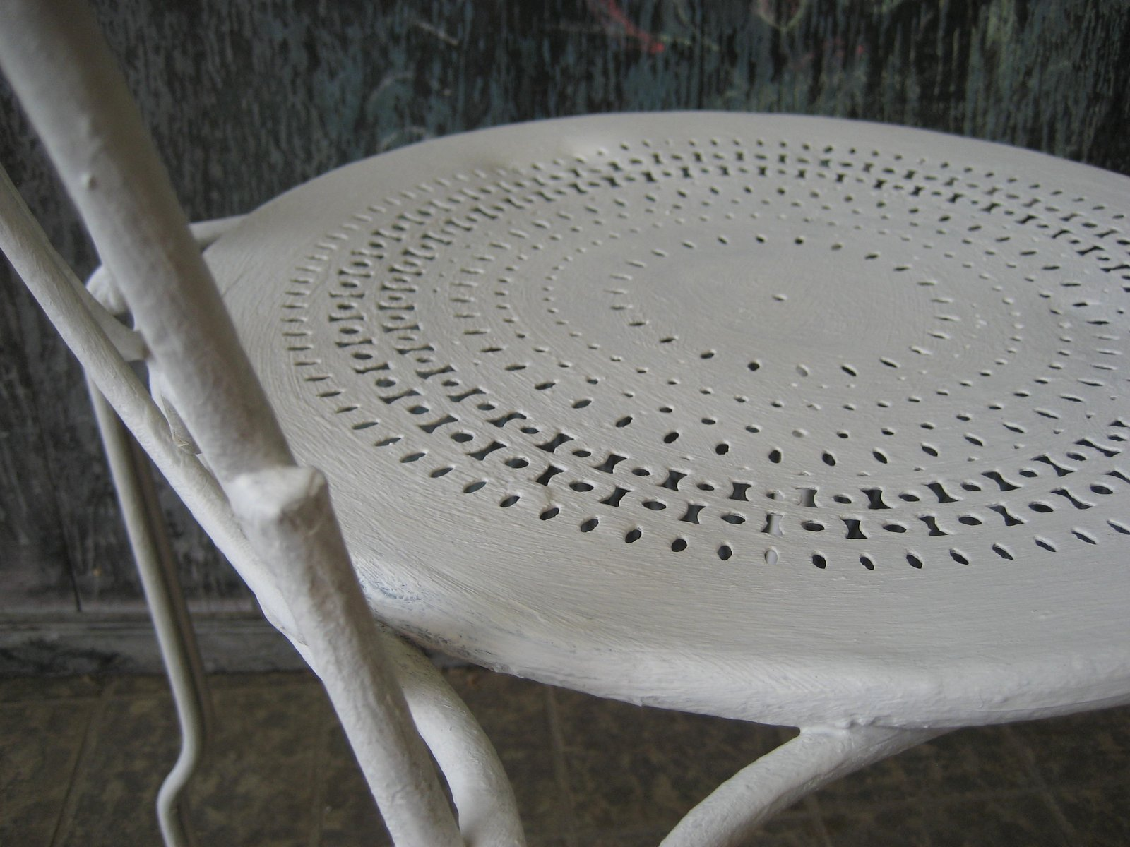 Chaise de jardin vintage en m tal france en vente sur pamono - Chaise de jardin en metal ...
